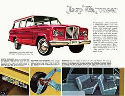 jeep kaiser 1962 kaiser jeep brochure
