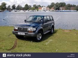 toyota number toyota land cruiser amazon long wheelbase four wheel drive stock