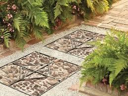 home depot path how to build a stone medallion garden path marvelous garden stones
