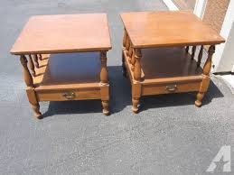 ethan allen end tables vintage ethan allen end tables contactmpow