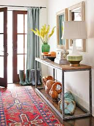 Entry Console Table With Mirror Entry Console Tables Sale Fall Entryway Wood Table Tribal Rug With