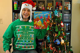 Ugly Christmas Decorations - geeky ugly christmas sweaters