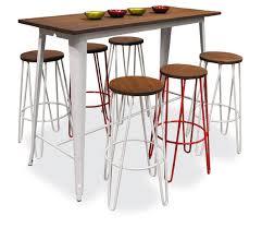 Tolix Bar Table Replica Tolix Wooden Top Bar Table Notre Pied à Terre