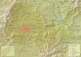 kabul map file kabul province topographic map png wikimedia commons
