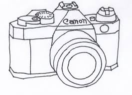 camera coloring page snapsite me