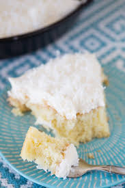 coconut tres leches skillet cake willow bird baking