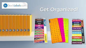 home organizing stickers storage moving u0026 packing labels