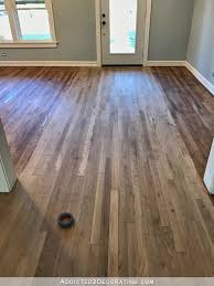 Hardwood Flooring Oak Adventures In Staining My Oak Hardwood Floors Products Process