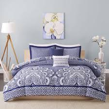 full comforter on twin xl bed amazon com intelligent design isabella all seasons comforter