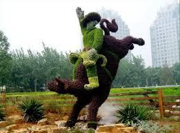 Laurel Topiary - cool topiary creations 1