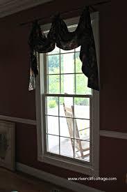 burlap window treatments u2013 or not
