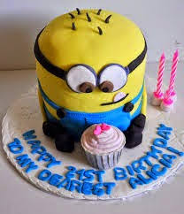 modele tort tort minion