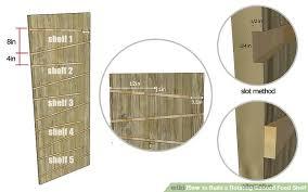 how to build a rotating canned food shelf 14 steps