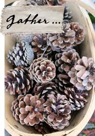 Scented Fireplace Logs by Homemade Pinecone Firelighters