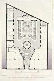 Floor Plan Of An Apartment Apartment Building On The Rue Franklin In Paris Famous As The