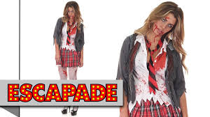 zombie schoolgirl halloween costume halloween fancy dress