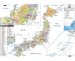 pusan on map maps of japan detailed map of japan in tourist map