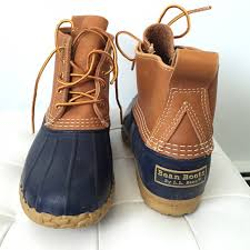35 l l bean boots navy l l bean boots 6 size 9 from
