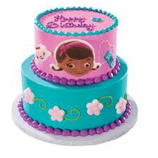 doc mcstuffins birthday cake doc mcstuffins party doc helping friends edible cake decoset