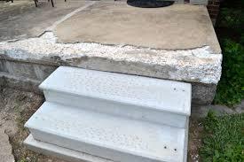 crumbling concrete porch repaired lansdowne life