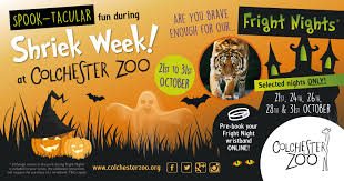 win family tickets to colchester zoo during shriek week