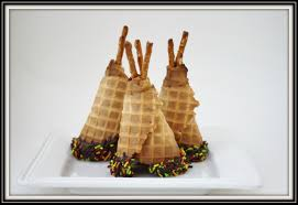 preschool crafts for kids thanksgiving teepee cupcakes recipe