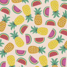 pineapple wrapping paper tropical fruit wrapping paper 5 sheets rex london dotcomgiftshop
