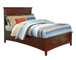 Full Storage Beds Casual Full Bed With Storage Footboard By Standard Furniture