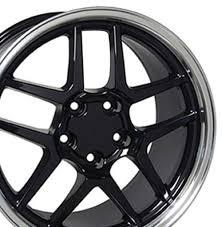 corvette zo6 rims chevrolet corvette c5 z06 style replica wheels black 18x10 5 17x9