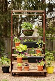 25 unique outdoor plant stands ideas on pinterest diy yard