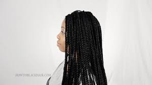 hair to use for box braids how to do box braids singles on natural hair supplies tutorial