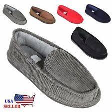 bedroom slippers for men men s slippers ebay