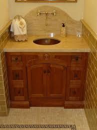 Furniture Style Vanity Supreme In Powder Room Vanities As Wells As Home Design N Bathroom