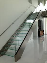 7 ultra modern staircases 7 cool uses of glass in a contemporary luxury home