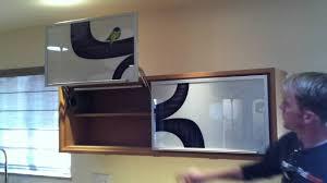 custom upper cabinet featuring blum aventos hl youtube