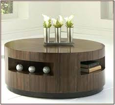 black coffee table with storage round coffee table with drawers coffee tables table small round