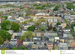 boston charlestown houses massachusetts usa stock photo image