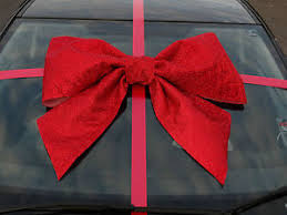 big bow for car present car bow big large gift bow handmade with superfast