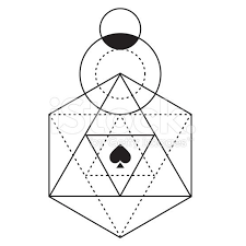 25 unique geometric triangle tattoo ideas on pinterest triangle