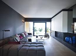 L Shape Wooden Sofa Designs Impressive Apartment Living Room Design With L Shape Long Grey