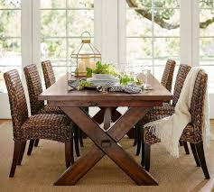 Seagrass Furniture Dining Room Decor Fabric Dining Chairs Pottery Barn Calais Chair