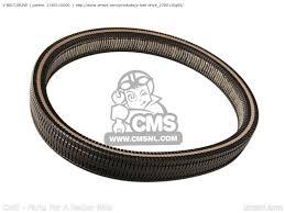 v belt drive an650 burgman 2005 k5 usa e03 2760110g00