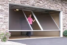 cool garage doors enjoy a cool summer in your garage with a garage door screen