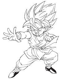dragon ball character coloring u0026 coloring pages