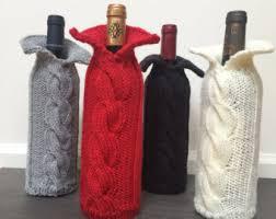 wine bottle sweater etsy