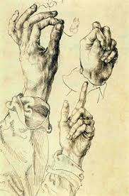 art quiz name the artist who drew these hands