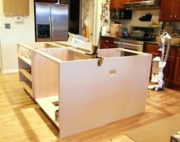 kitchen island base kits building a kitchen island bloomingcactus me
