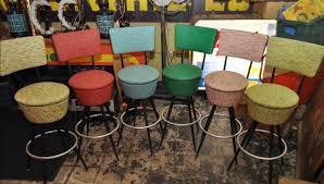 six gorgeous vintage bar stools color color give us color