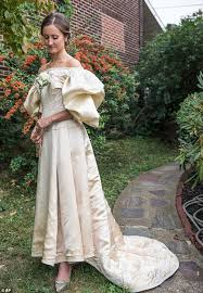history of the wedding dress this dress is 120 years and worn by 11 brides do you remember