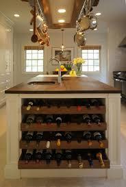 wine rack kitchen island kitchen island with built in wine rack butcher block countertop